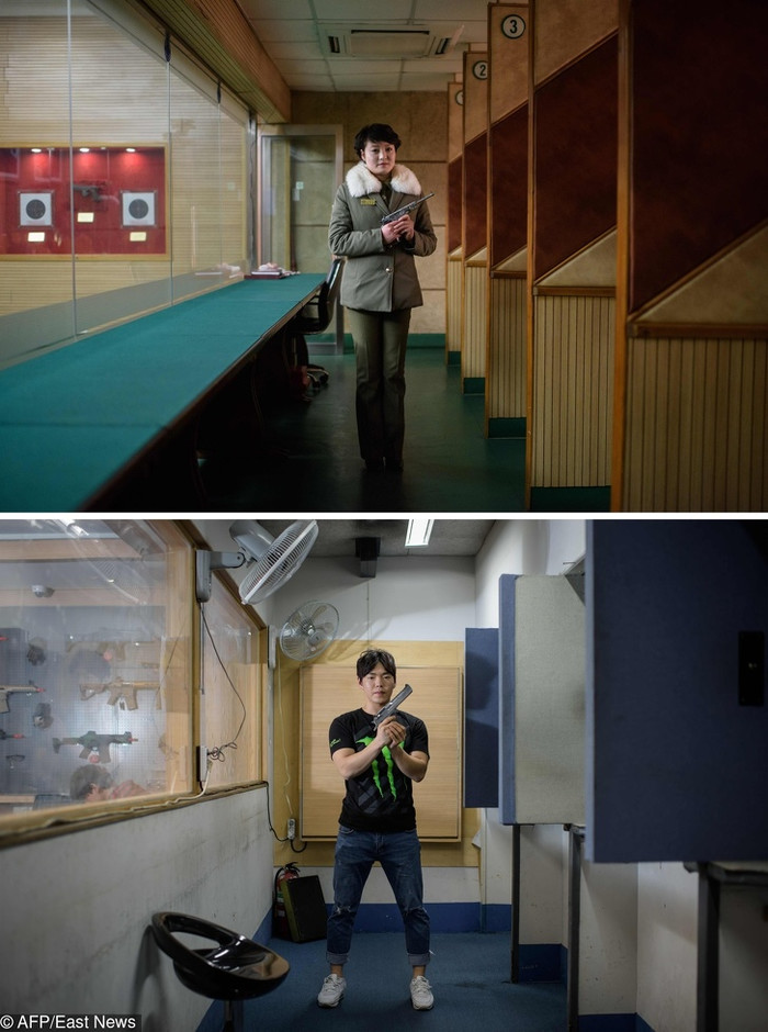 Фотограф продемонстрировал миру сходства и различия Северной и Южной Корей. И они способны впечатлить Северная Корея, Южная Корея, Отличия, Фотограф, Длиннопост