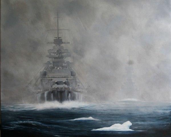"Битва за Атлантику. ""Бисмарк"". Часть VI. Бой в Датском проливе. Kriegsmarine, Бисмарк, Флот, Битва за Атлантику, Длиннопост, Видео"