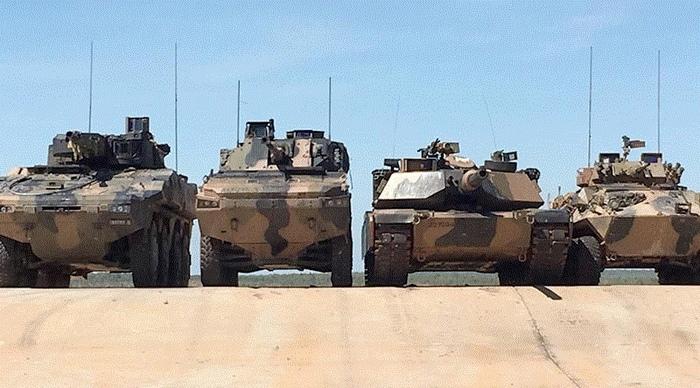 Малыши Габариты, Оружие, Бронетехника, Сухопутные силы Австралии