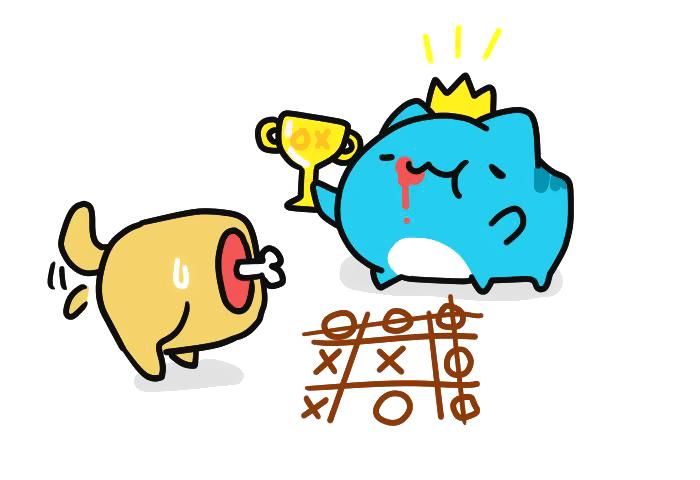 Победителей не судят! Bugcat-Capoo, Бракованный кот, Кот, Крестики-Нолики, Игры, Победители, Красная карточка, Наказание, Длиннопост