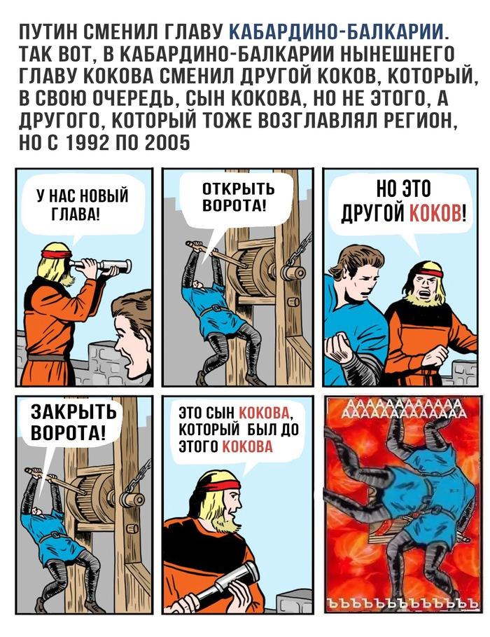 Новое - это хорошо забытое старое Россия, КБР, Круговорот, Комиксы, Новости