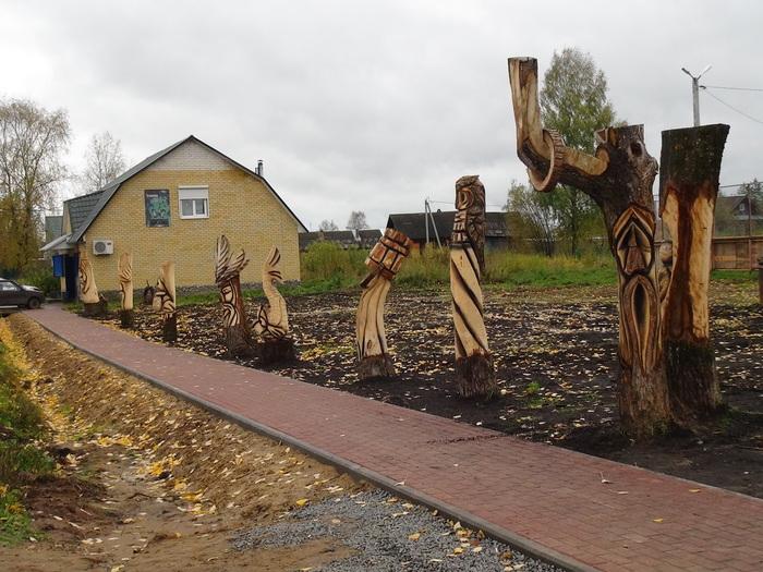 Аварийные деревья, вторая жизнь! Зебляки, Резьба по дереву, Умельцы, Длиннопост