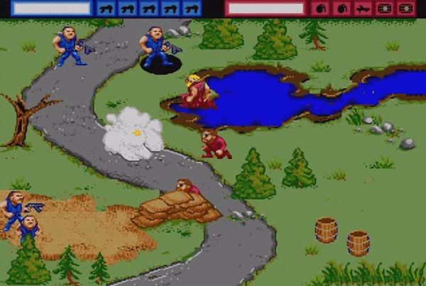 General Chaos: ураганная тактика из 90-х Игры, Sega, Ностальгия, Назад в 90е, Ретро, Ретро-Игры, Обзор, Игровые обзоры, Гифка, Длиннопост