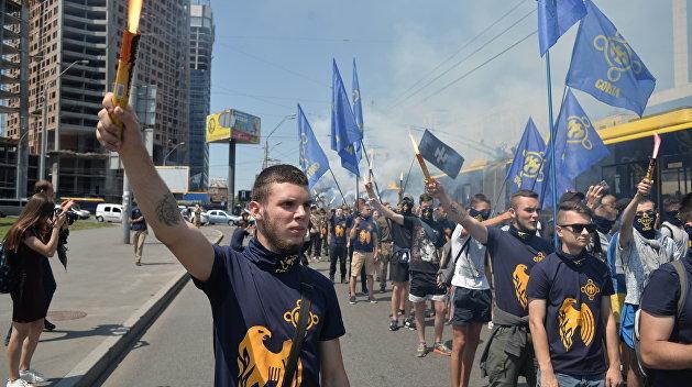 Националисты захватили православный храм на западе Украины Украина, Религия, Христианство, Православие, Правый Сектор, Радикалы, Националисты, Длиннопост