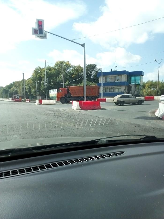 Планировка Российские дороги, Прикол