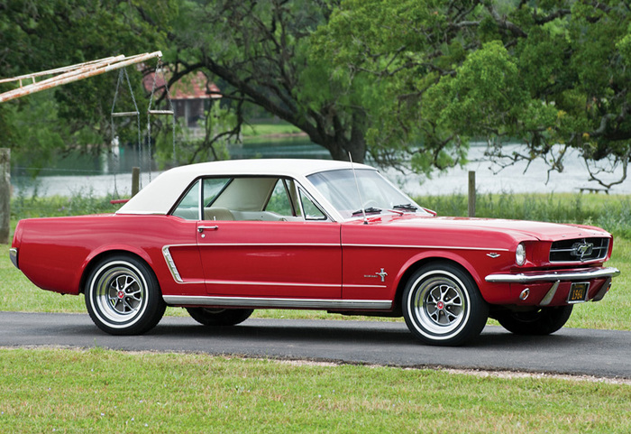 1964 Ford Mustang Hardtop 260 Форд, Ford mustang, Maxmiller19, Классика, Длиннопост, Авто, Фото автомобилей
