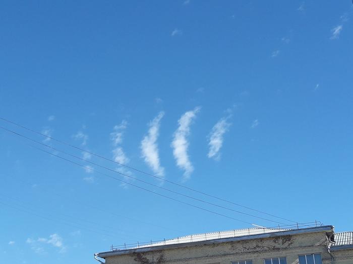 У нас сегодня небо раздавало WI-FI Небо, Wi-Fi