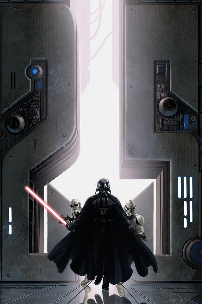 Небольшая подборка артов по Star Wars Star Wars, Дарт Вейдер, Арт, Джедаи, Световой меч, Длиннопост