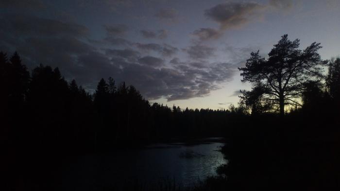 Немного выборгского неба вам в ленту Фотография, Природа, Сумерки