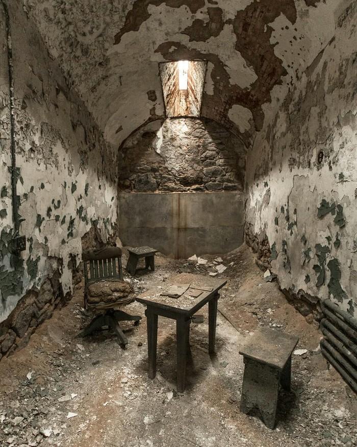 Заброшенная тюрьма в Америке. Фотография, Америка, Заброшенное, Тюрьма, США, Красота, Длиннопост