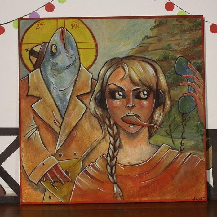 В голову мне приходит разное Художество, Психоделика, Картина, Рыба, Ловите наркомана, Длиннопост