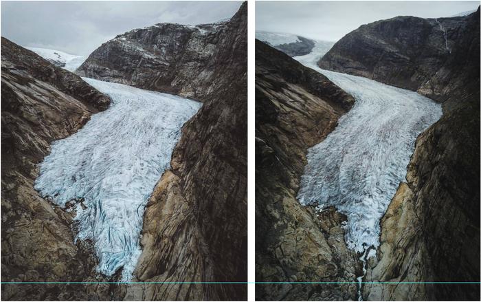 Норвегия, ледникNigardsbreen Норвегия, Ледник, Глобальное потепление, Фотография, Горы, Дрон, Климат