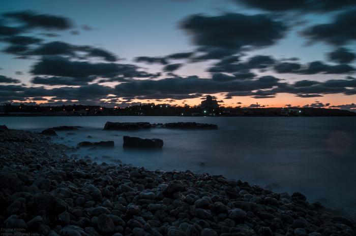 После заката Фотограф, Пейзаж, Вечер, Закат, Длинная выдержка