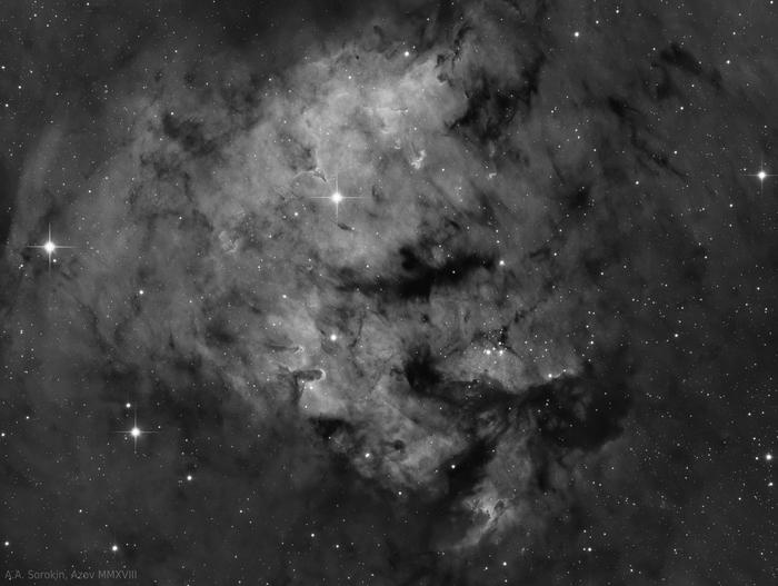Астрофото при Луне Астрофото, Астрономия, Телескоп, Туманность, Галактика, Космос, Длиннопост
