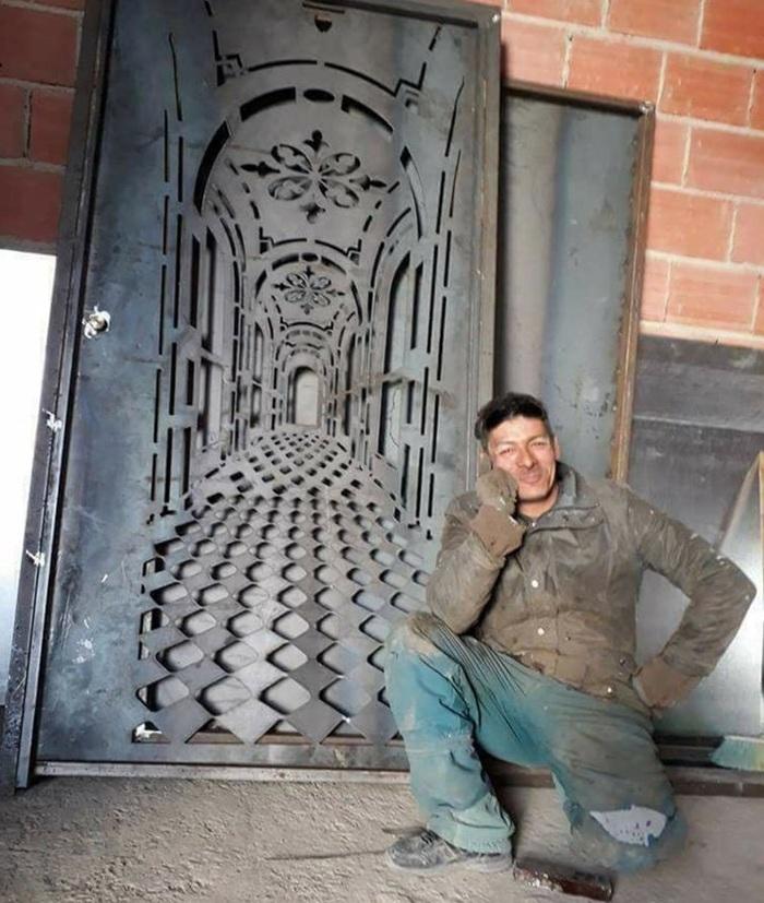 Мастер Дверь, Ручная работа, Длиннопост, Лазер, 3D