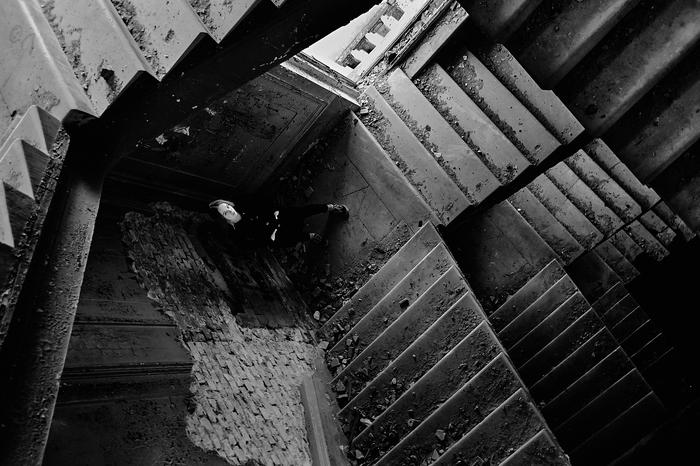 Геометрия. Фотография, Черно-Белое, Геометрия, Лестница, Екатеринбург