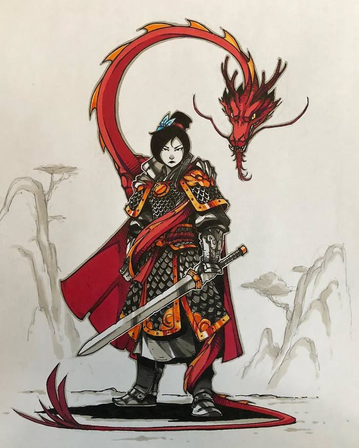 """Mulan"" by Art-veider"
