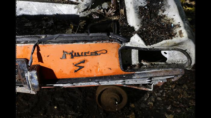 d2ca10edcc80 А вы бы купили обломки полностью сгоревшего Ламборгини за 10 миллионов  рублей  Lamborghini Miura,