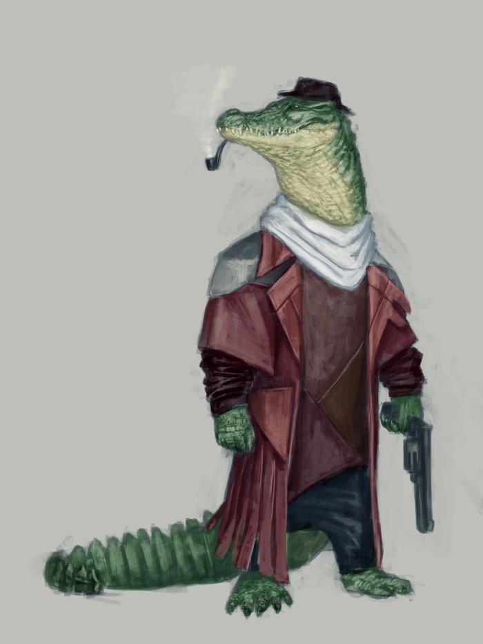 Крокодил ГЕНгстер