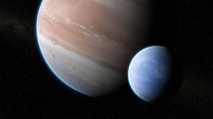 Открыта первая экзолуна Космос, Экзопланеты, Экзолуна