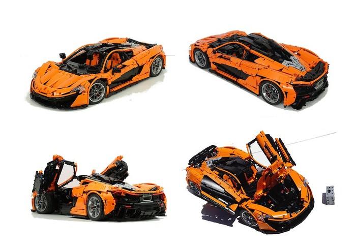 McLaren P1 из Lego LEGO, McLaren P1, LEGO MOC, Самоделки, Видео, Длиннопост
