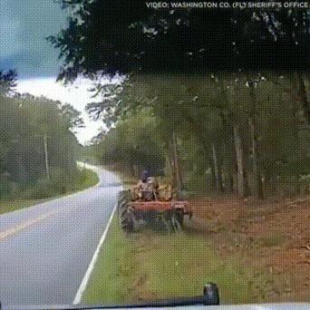 Дерзкий тракторист