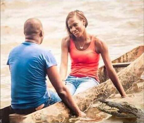 Любовь слепа, а крокодил нет