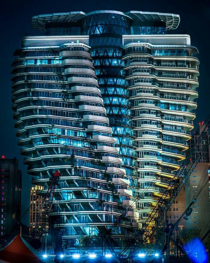 Интересная постройка в Тайбэй.