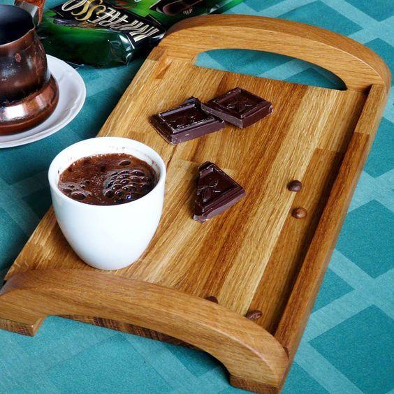 Кофейный микростолик. Рукоделие с процессом, Кофейный столик, Поднос, Длиннопост