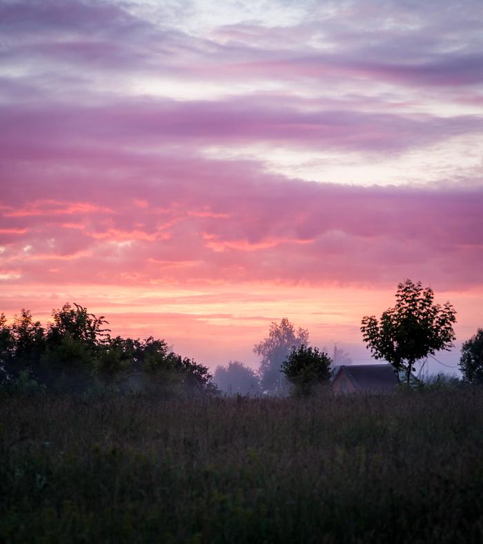 Раннее утро Фотография, Утро, Дорога, Длиннопост