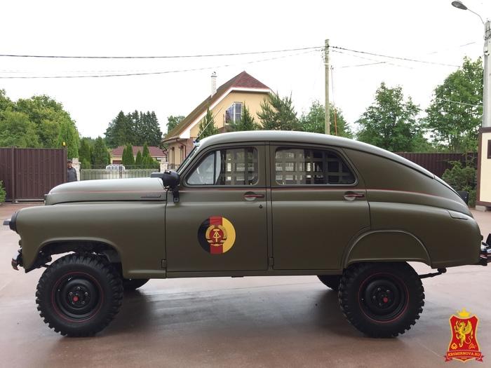 ГАЗ-М72 «Армия ГДР» Оружие, Армия ГДР, Газ-М72, Длиннопост