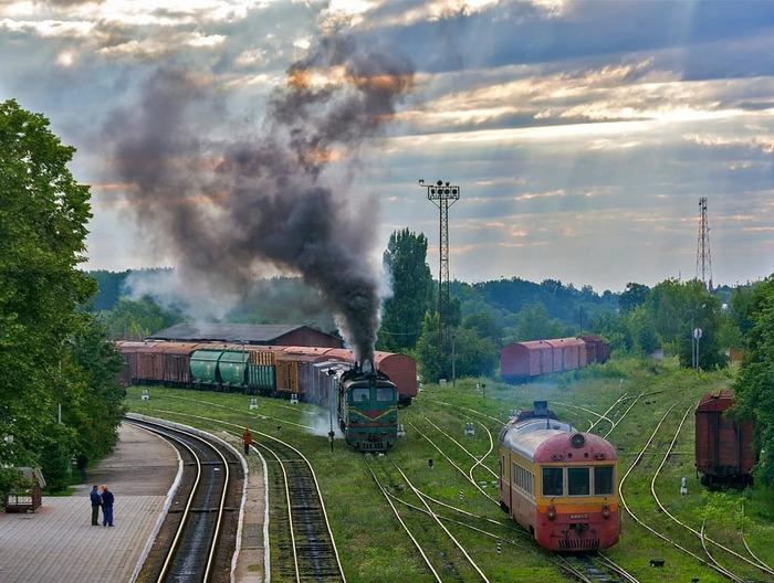 Глухая провинция Молдова, Железная Дорога