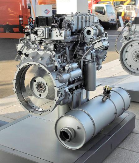 Российская компания представила дизельный двигатель экологического стандарта Евро-6 — ЯМЗ-53426 Группа ГАЗ, Ямз-53426, Двигателестроение