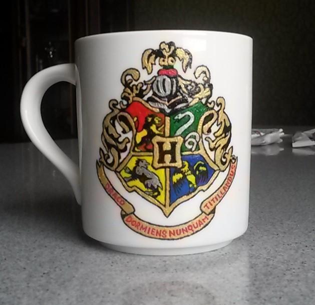 """Роспись кружки для фаната """"Harry Potter"""" Роспись, Гарри Поттер, Кружки, Рукоделие без процесса, Длиннопост, Своими руками, Handmade, Поделки"""