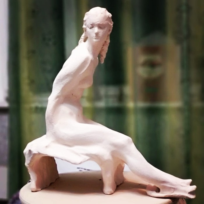 Этюд с натуры Скульптура, Керамика, Этюд, Модели