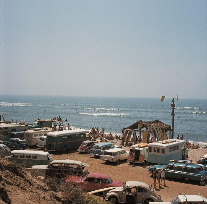 Калифорния 1963 год. Калифорния, Пляж, Машина, Лето, Море, История, 60-е