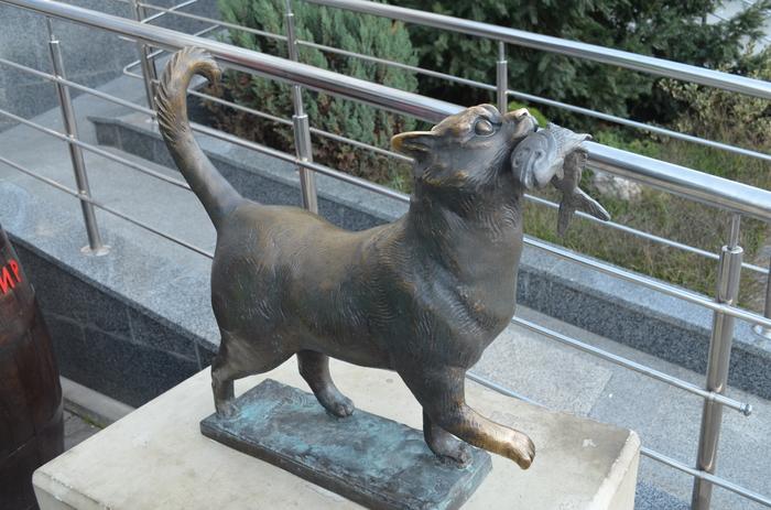 Памятник Балаклавскому коту