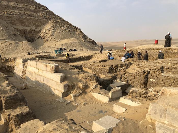 В Абусире обнаружена гробница V Династии Древний египет, Археология, Некрополь, Египтология, Длиннопост