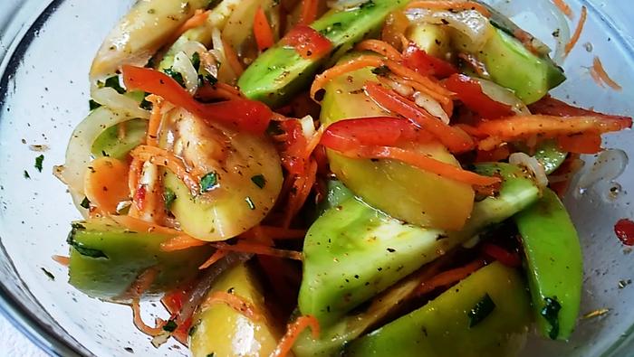 Зеленые помидоры по корейски - на каждый день или на зиму Видео, Зеленые помидоры, Еда, Рецепт, Кулинария
