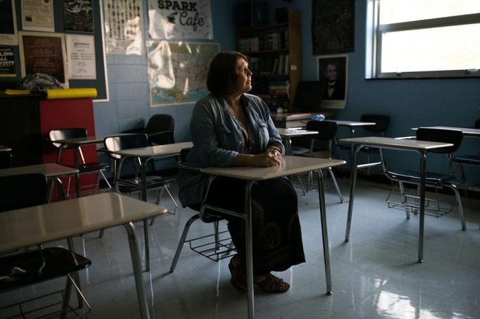 «Я учитель в Америке» Политика, Капитализм, США, Образование, Учитель, 1c172f1dfa2