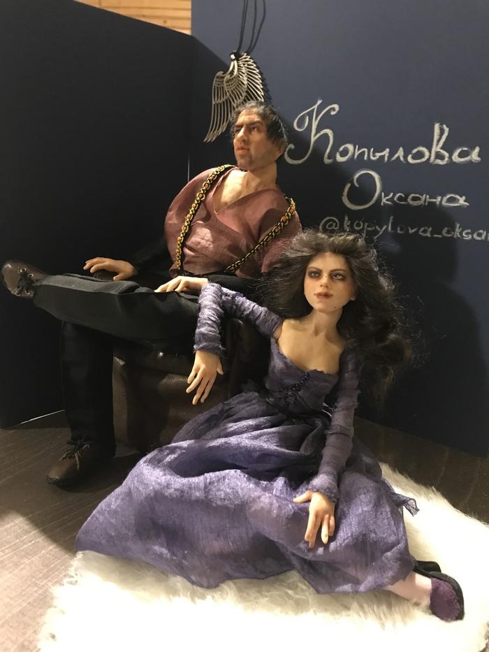 """Портретная кукла """"Челентано """" Портрет, Кукла, Коллекционная кукла, Крепо, Длиннопост"""