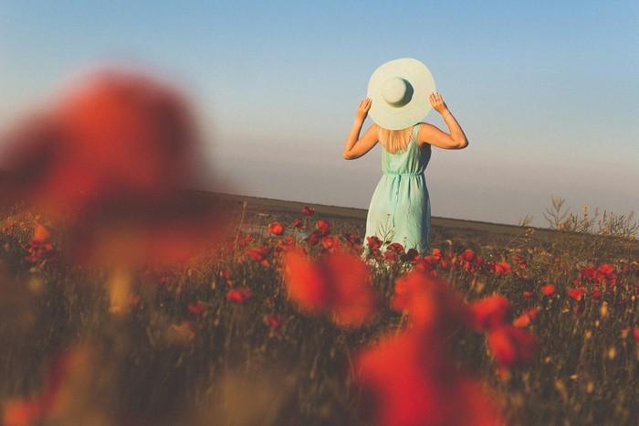 Маковое поле Моё, Маки, Поле, Фотография, Canon, Девушки, Лето, Длиннопост