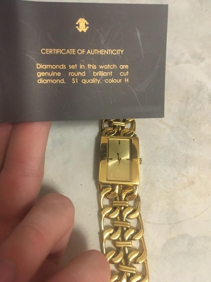 Пожалуйста, помогите идентифицировать часы Оценка, Roberto cavalli, Часы, Золото, Длиннопост, Помощь
