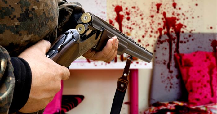 Ну, сейчас начнется... Убийство, Огнестрельное оружие, Семейная жизнь, Детский сад