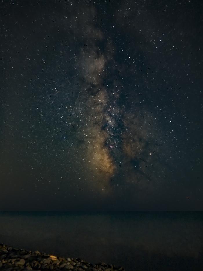 Млечный Путь Млечный Путь, Milkyway, Галактика, Астрофото, Волконка, Черное море