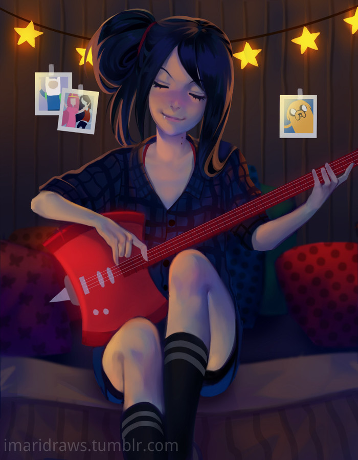 Marceline Арт, Adventure time, Marceline, Maridraws
