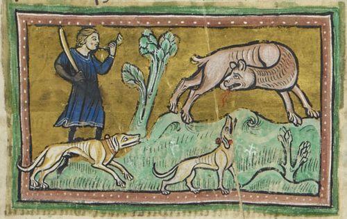 Коварный бестиарий средневековья. Искусство, История, Животные, Длиннопост