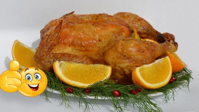 Курица в духовке с хрустящей корочкой. Видео рецепт, Рецепт, Мясо, Еда, Курица, Вкусно, Кулинария, Видео, Длиннопост