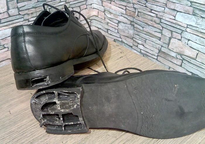 Замена каблуков в мужской обуви. Будни сапожника. Ремонт обуви, Каблуки, Моя интересная работа, Фотография, Длиннопост
