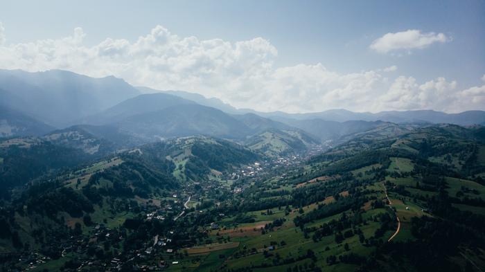 Румынские Карпаты Румыния, Карпаты, Дрон, Аэросъемка, Фотография, Природа